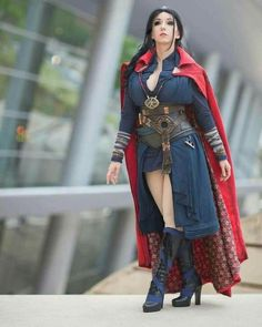marvel dr strange genderbend at DuckDuckGo Epic Cosplay, Amazing Cosplay, Cosplay Outfits, Female Marvel Cosplay, Marvel Cosplay Girls, Dr Strange Costume, Superhero Cosplay, Bd Comics, Marvel Girls