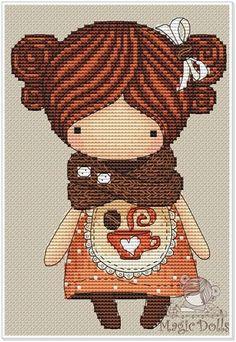 Magic dolls вышивка схемы