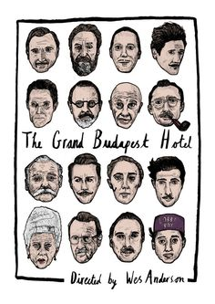 The Grand Budapest Hotel - Poster Print