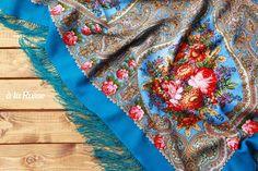Russian luxurious scarf / shawl by A LA RUSSE - ELENA