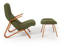 Eero Saarinen (Modernica)  Grasshopper Chair + Ottoman