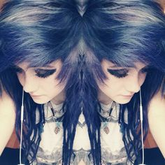 Evelyn) I've been obsessed with Goodbye Agony by Black veil Brides Lately... I don't know if that's good or bad...