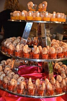 www.BellMillMansion.com Exquisite Southern Wedding and Event Venue - Shrimp with Cocktail Sauce and Mango Horseradish Sauce