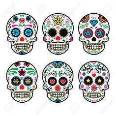 mexican sugar skull - Buscar con Google