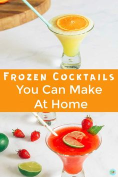 Easy refreshing frozen cocktail recipes you can make at home with gin, rum, vodka and Prosecco the best summer cocktails for parties and cocktail get togethers #partycocktails #summercocktails #extraordinarychaos Cocktails To Make At Home, Refreshing Summer Cocktails, Cocktails For Parties, Frozen Cocktails, Winter Cocktails, Easy Cocktails, Drinks, Best Cocktail Recipes, Make It Simple
