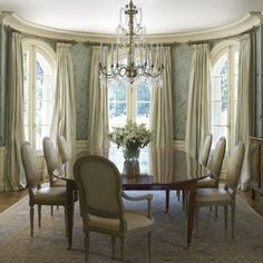 #curtains #diningroom #traditional #decor