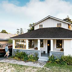 Amazing beach shack before and after