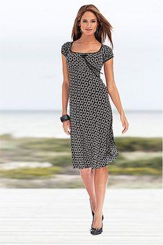 Dresses - Buy Women&-39-s Dresses Online - Heine Flower Print Maxi ...