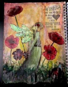 "Mixed Media Art Journal - ""Dreams"""