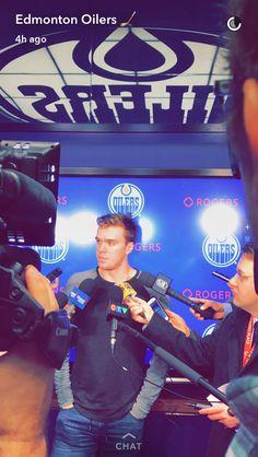 Connor McDavid Connor Mcdavid, Marc Andre, Edmonton Oilers, Hockey Players, Sassy, Sick, Boys, Sports, Baby Boys