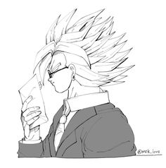 And I present Broly in a suit