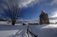 Moulin de l'Isle-aux-Coudres - Isle-aux-Coudres, Quebec