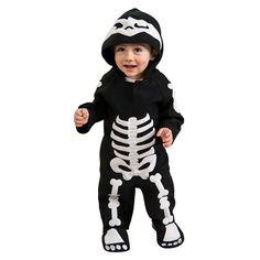 Infant/Toddler Baby Skeleton Costume : Target