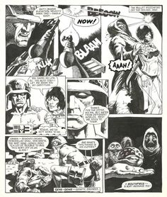 2000AD Original Art Thread. Cam Kennedy