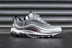 Nike Air Max Metallic 97 Ultra Metallic Max Silver Gotas Pronto Nice Kicks f4f853