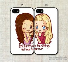 Hey, I found this really awesome Etsy listing at https://www.etsy.com/listing/201333593/two-girls-best-friend-cases-double-case