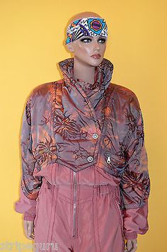 #Vintage #retro morgan's #womens ski suit onesie size m-ish 80s all in one…