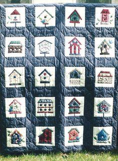 My Birdhouse quilt | My Quilts | Pinterest | Birdhouse, Patchwork ... : birdhouse quilts - Adamdwight.com