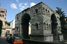 The Arch of Janus in the Forum Boarium of ROme
