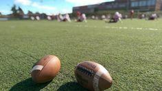 Football, Field, Sanford, Scarborough, Turf, Jr High, Footballs