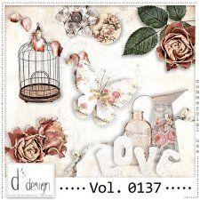 Vol. 0137 - Vintage Mix  by Doudou's Design  #CUdigitals cudigitals.com cu commercial digital scrap #digiscrap scrapbook graphics
