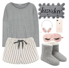 Cute Lazy Outfits, Chill Outfits, Trendy Outfits, Teen Fashion Outfits, Look Fashion, Sleepover Outfit, Pajama Outfits, Look Vintage, Home Outfit