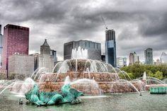 Uno spettacolo di fontana: ecco le più belle del mondoBuckingham Fountain, Chicago