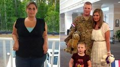 Garcinia Cambogia & Colon Cleanse, Dr Oz - Army Wife Surprises Husband With Weight Loss on His Return From Iraq Army Husband, Military Wife, Weight Loss Motivation, Weight Loss Tips, Lose Weight, Body After Baby, Lose 100 Pounds, Chocolate Slim, Ideal Shape