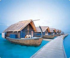 Amazing boat hotel