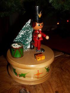 Vintage Christmas Little Drummer Boy  Wooden by JunkyardElves, $15.95