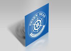 Seven Seas Branding Seas, Business Cards, Logo Design, Branding, Logos, Lipsense Business Cards, Brand Management, Logo, Identity Branding