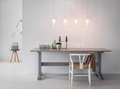 Lampa wisząca FORFAR LED aluminium (38065/48/16) - Philips
