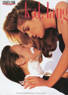 K.D. Lang Was The Original Ruby Rose