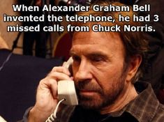 Chuck Norris once urinated in a semi truck's gas tank as a joke…. Description…