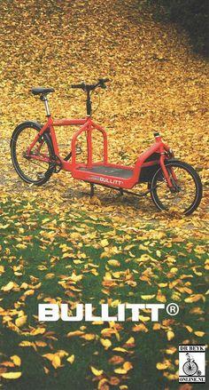 Bullitt Cargo Bike, Bike Stuff, Transportation, Cycling, Survival, Posters, Steel, Vehicles, Projects