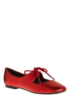 Red-dy to Go the Distance Flat, #ModCloth