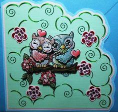 verliefde uilen