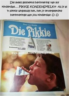 Was darem báie lekker gewees! Scrapbook Recipe Book, South Afrika, Good Old Times, Those Were The Days, We Are Young, Old Ads, My Childhood Memories, African History, Vintage Labels