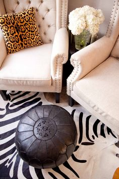The Decorista's Eclectic + Glam Home Office | The Office Stylist