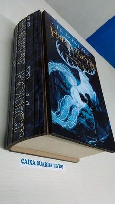 Caixa Guarda Livro Harry Potter I