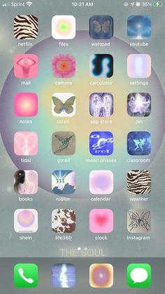 Ios 14 Homescreen 🤍 in 2021 | Homescreen iphone, Iphone design, Iphone wallpaper ios