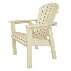 POLYWOOD® SHD19 Seashell Adirondack Chair Finish: Sand