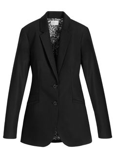 The perfect black blazer. **LOVE the tunic length blazer