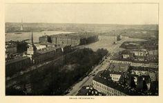 1903 Print Saint Petersburg Russia Aerial View Architecture Russian XGM1