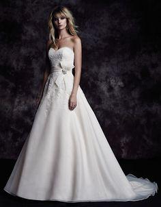 Paloma Blanca Style 4607 - Wedding Dresses Bridal Gowns,Prom Dresses On Sale Most Beautiful Wedding Dresses, 2015 Wedding Dresses, Perfect Wedding Dress, Wedding Dress Styles, Designer Wedding Dresses, Wedding Attire, Bridal Dresses, Wedding Gowns, Wedding Dress Organza