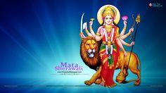 Sherawali Mata Durga Wallpaper HD Full Size Download
