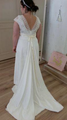 Wedding robe Elsa Gary #Margot