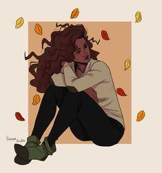 Hermione Art Print by Linneart - X-Small Black Girl Art, Black Women Art, Art Girl, Art Women, Pretty Art, Cute Art, Art Sketches, Art Drawings, Hogwarts