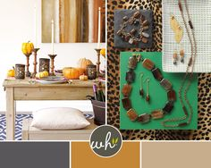 Style MASH-UP! Home Décor and Jewelry compliment eachother #Willow House #Jewelry by Sara Blaine