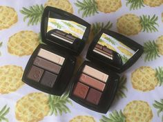 My two favorite Avon Eyeshadow Quad compacts in Chocolate Sensation and Warm Sunrise. Create casual to dramatic looks with easy color coordinated and numbered shadows with step by step guidance on its box. Get yours at youravon.com/robinanderson and take 20% your first order of $50+ with code WELCOME. plus free shipping!!